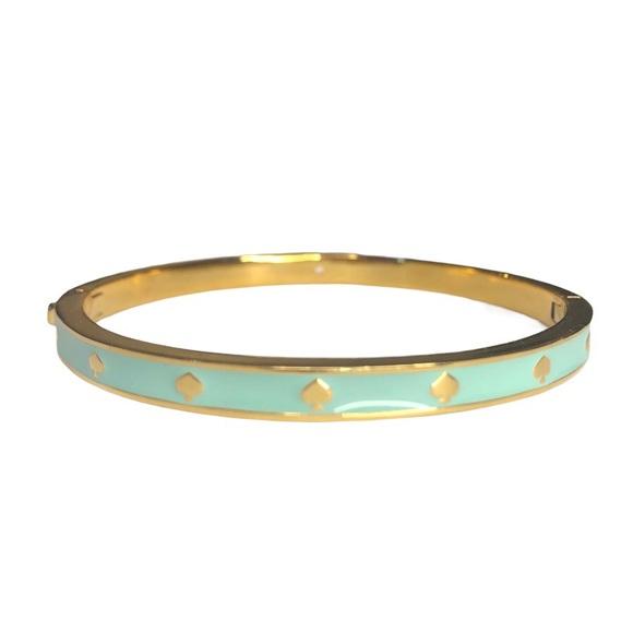 ♠️ kate spade Spot The Spade Bracelet Mint…